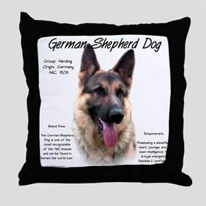 GSD Throw Pillow