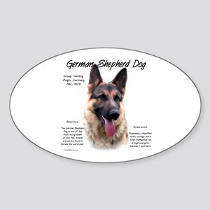 GSD Sticker (Oval)