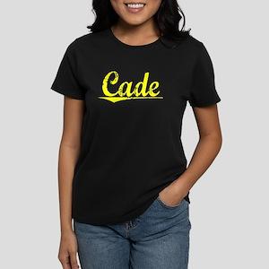Cade, Yellow Women's Dark T-Shirt