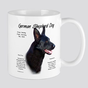 Black GSD 11 oz Ceramic Mug