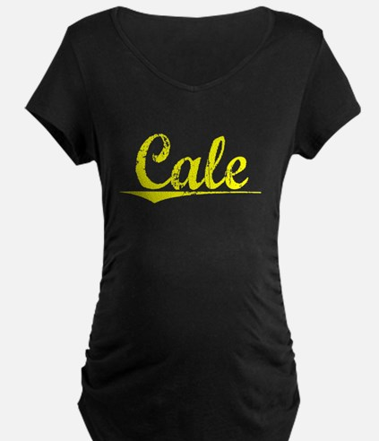 Cale, Yellow T-Shirt