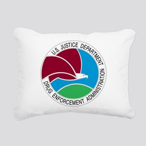 DEA seal Rectangular Canvas Pillow
