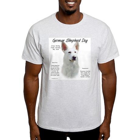 White GSD Light T-Shirt