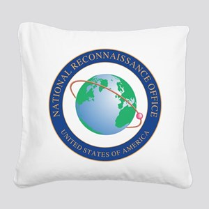 NRO seal Square Canvas Pillow