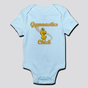 Gymnastics Chick #2 Infant Bodysuit
