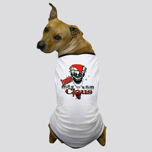 Zombie claus Dog T-Shirt