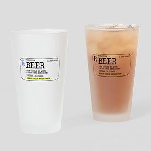 Beer Prescription Koozie Drinking Glass