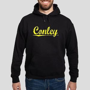 Conley, Yellow Hoodie (dark)