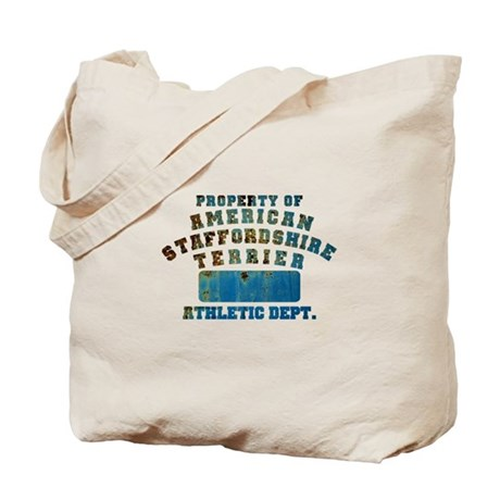 Property of American Staffordshire Terrier Tote Ba