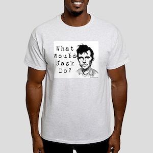 Ash Grey WWJD? T-Shirt