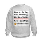 CookLikeMotherFather Kids Sweatshirt