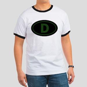 """""""D"""" Euros Ringer T"""