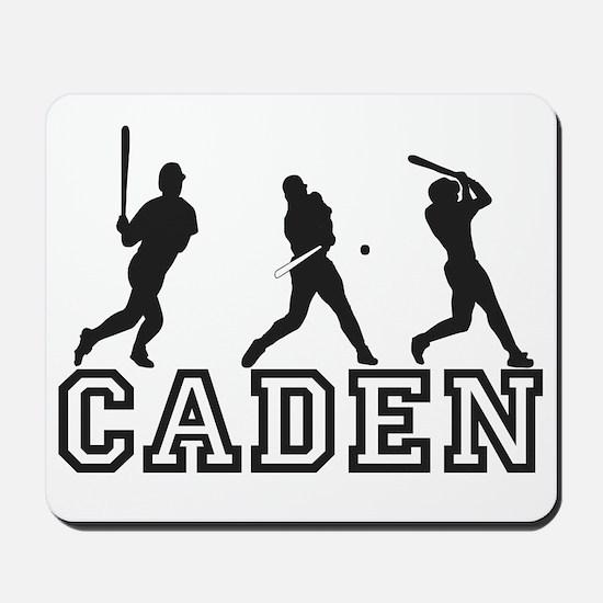 Baseball Caden Personalized Mousepad