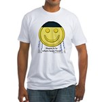 Messianic Smiley Fitted T-Shirt