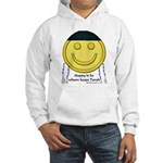 Messianic Smiley Hooded Sweatshirt