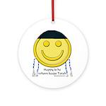 Messianic Smiley Ornament (Round)