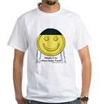 Messianic Smiley White T-Shirt