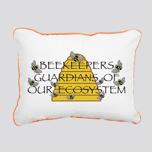 Beekeepers Rectangular Canvas Pillow