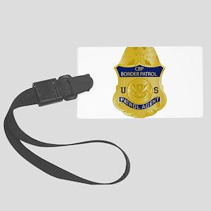 CBP badge Large Luggage Tag