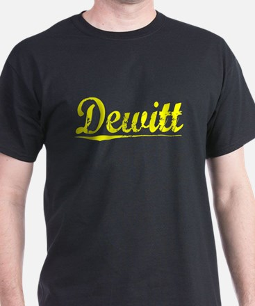 Dewitt, Yellow T-Shirt