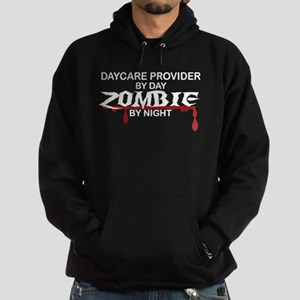 Daycare Provider Zombie Hoodie (dark)