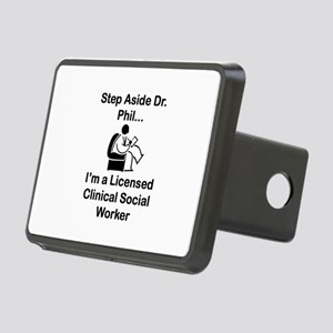 Step Aside Dr. Phil... Rectangular Hitch Cover