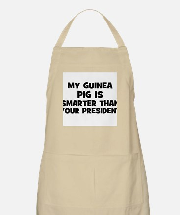 My Guinea Pig Is Smarter Than BBQ Apron