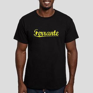 Ferrante, Yellow Men's Fitted T-Shirt (dark)