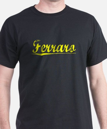 Ferraro, Yellow T-Shirt