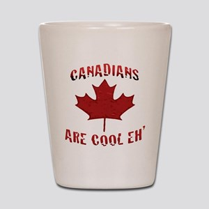 Canadians Are Cool Eh Canadian Shot Glass