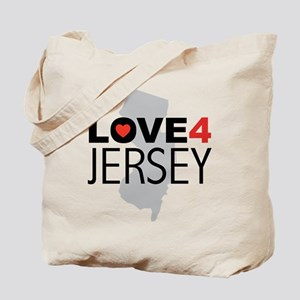 Love 4 Jersey Tote Bag