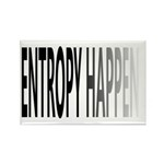 Entropy Happens Fade Rectangle Magnet (10 pack)