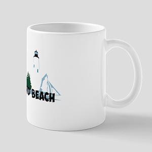 Old Orchard Beach ME - Beach Design. Mug