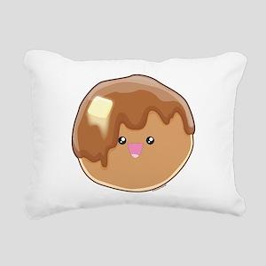 Pancake! Rectangular Canvas Pillow