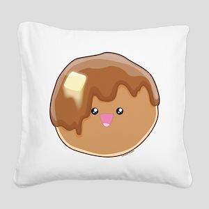 Pancake! Square Canvas Pillow