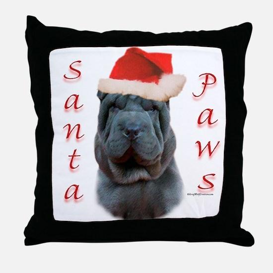 Shar Pei Paws Throw Pillow