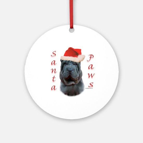 Shar Pei Paws Ornament (Round)