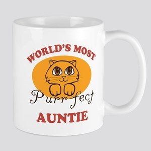 One Purrfect Auntie Mug