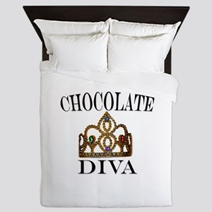 Chocolate Diva Queen Duvet