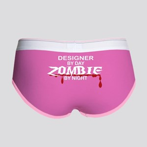 Designer Zombie Women's Boy Brief