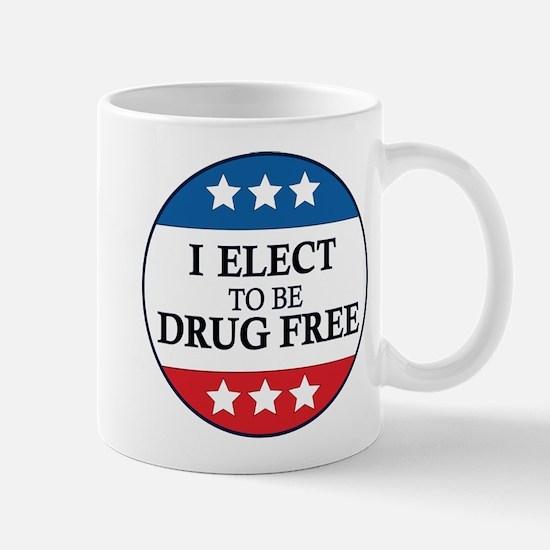 Drug Free Pin Mug