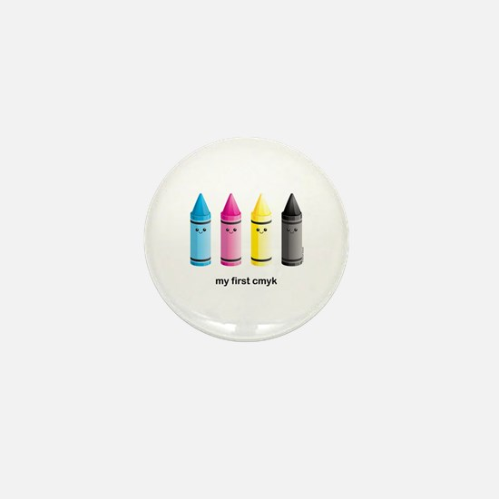 CMYK Mini Button