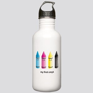 CMYK Stainless Water Bottle 1.0L