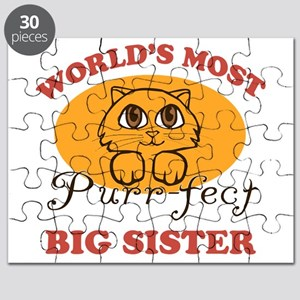 One Purrfect Big Sister Puzzle