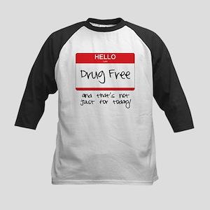 Drug Free Kids Baseball Jersey