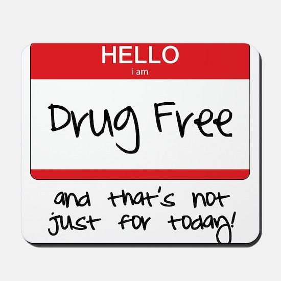 Drug Free Mousepad