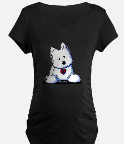 Westie Doorway To My Heart T-Shirt