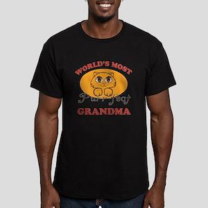 One Purrfect Grandma Men's Fitted T-Shirt (dark)