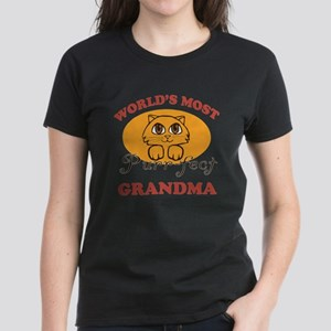 One Purrfect Grandma Women's Dark T-Shirt
