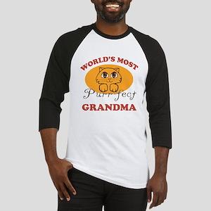 One Purrfect Grandma Baseball Jersey